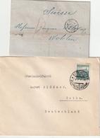 Europa / Liquidationslot Mit 6 Aelteren Briefen (AI01) - Lots & Kiloware (mixtures) - Max. 999 Stamps