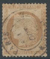 Lot N°52725  Variété/n°36, Oblit Cachet à Date De PARIS (R. Bonaparte), Filet SUD - 1870 Besetzung Von Paris