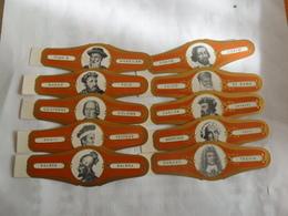 Les Explorateurs Série Brun - Bauchbinden (Zigarrenringe)