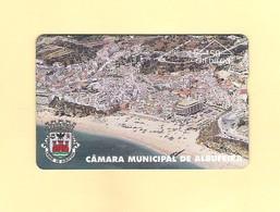 "PHONECARD - PORTUGAL  PT078 ""C.M. ALBUFEIRA"" 50U - EX: 7.500 - NEW/NOT USED - Portugal"