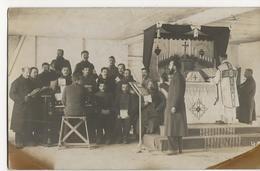 CAMP GARDELEGEN  Militaires  Messe Choeur  Cachet Kommandantur  Kriegsgefangenenlagers  Prisonniers De Guerre Caillotin - Guerra 1914-18