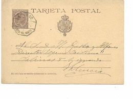 SH 0347. EP 10 C. Ambulant BARNA. VAL. MIXTO Du 8.12.97 V. VALENCE. TB - Entiers Postaux