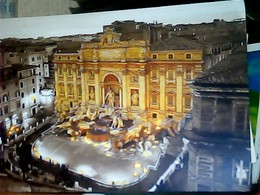 ROMA FONTANA DI TREVI  NOTTURNO STAMP FAUSTO COPPI   B ISOLATO VB2019 HL5258 - Fontana Di Trevi
