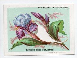 - CHROMO BOUILLON CIBILS - PUR EXTRAIT LIQUIDE DE VIANDE DE BOEUF - - Trade Cards