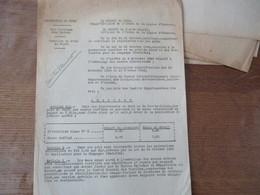 LILLE & ARRAS LE 9 MAI 1941 LES PREFETS DU NORD ET DU PAS DE CALAIS ARRETENT TAXATION DU PRIX DU SUCRE - Historische Dokumente