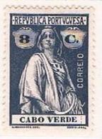Cabo Verde, 1914, # 145 Dent. 15x14, MH - Kapverdische Inseln