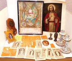 Lots D'images Et D'Objets Religieux - Religion & Esotérisme