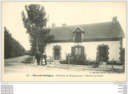 41 MUR-DE-SOLOGNE. Maison Du Garde Domaine Boisgenceaux - France