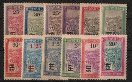 Madagascar - 1922-27 - N°Yv. 144 à 155 - Série Complète - Neuf Luxe ** / MNH / Postfrisch - Ungebraucht