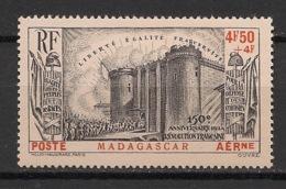 Madagascar - 1939 - Poste Aérienne PA N°Yv. 15 - Révolution - Neuf Luxe ** / MNH / Postfrisch - Madagascar (1889-1960)