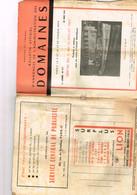 Bulletin D'annonces Des Domaines N° 217 Vedette à Moteur Lorient Drage à Godets Dieppe III Norton BSA Terrot DKW Side... - Livres, BD, Revues