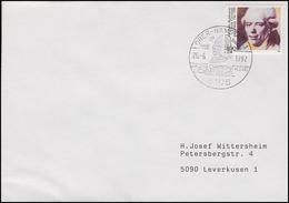 1616 Georg Christoph Lichtenberg Physiker, EF Brief SSt Ober-Ramstadt 26.6.1992 - Physique