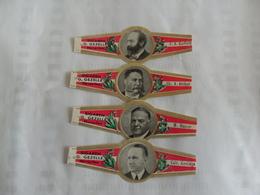 Président USA 1ère Série Gezelle - Bauchbinden (Zigarrenringe)