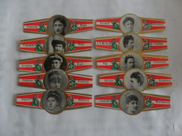 Personnage Historique - Bauchbinden (Zigarrenringe)