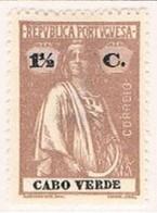 Cabo Verde, 1920/1, # 140 Dent. 15x14, Papel Acetinado, MH - Kapverdische Inseln