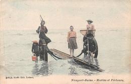 Nieuport - Marins Et Pêcheurs En 1905 - Nieuwpoort