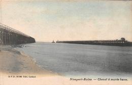 Nieuport - Chenal à Marée Basse - Nieuwpoort