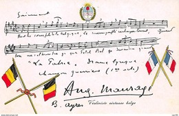 Militaire - N°63367 - Violoniste Virtuose Belge - Partition - Militaria