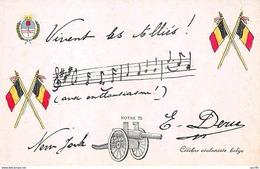 Militaire - N°63369 - Célèbre Violoniste Belge - Partition - Notre 75 Canon - Militaria