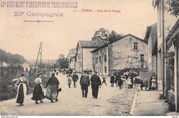 88 .n° 109102.  Epinal . Cachet Militaire .pont De La Vierge . - Epinal