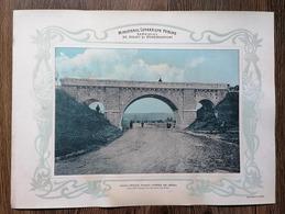 Romania Calea Ferata Pitesti Curtea De Arges Viaduct Boltit - Roumanie