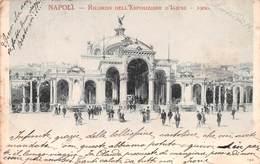 NAPOLI - RICORDO DELL'ESPOSIZIONE Di IGIENE - 1900 - POSTED IN 1900 ~ A 120 YEAR OLD VINTAGE POSTCARD #21457 - Napoli (Naples)