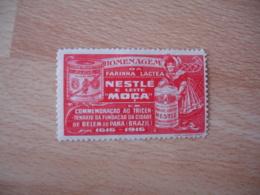 Pharmacie Sante Nestle  Moga  Belem Brazilt Vignette Timbre Erinnophilie - Sonstige