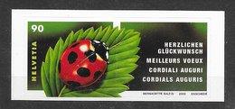 Insecte Coccinelle - Suisse N°1731 2002 ** - Altri