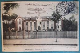 CPA - ARCACHON -  Couvent De Dames Ursulines - Colorisée 1904 - Arcachon
