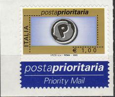 PIA -  ITALIA  - 2003 : Posta Prioritaria -    I.P.Z.S.  - S.p.A.  - ROMA   -  (SAS  2673C) - 6. 1946-.. Repubblica