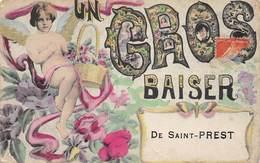 20-2705 :  UN GROS BAISER DE SAINT-PREST. - Non Classés