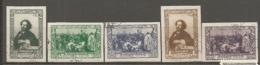 RUSSIE -  Yv N° 938B à 942B ND Complet  (o)  Peintre Repine   Cote  3  Euro  BE 2 Scans - 1923-1991 UdSSR