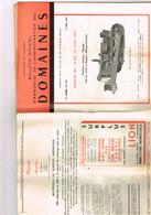 Bulletin D'annonce Des Domaines N 216 Bulldozer Bondy à Angers Maisons De Garde PN Haltes Var & Indre Décapeuse Rhonelle - Livres, BD, Revues