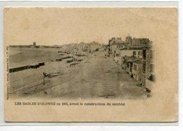 85 LES SABLES D'OLONNE Carte RARE En 1865 Avant La Construction Du Remblai Tirage Fin 19 Em  Dos Non Divisé   D03 2020 - Sables D'Olonne