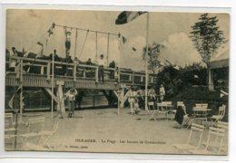 95 L'ISLE ADAM La Plage Portique Les Lecons De Gymnastique Enfants Et Professeur 1910  D03 2020 - L'Isle Adam