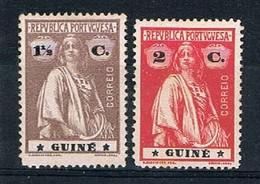 Guiné, 1914, # 146, 147 Dent. 15x14, (I-I), MH - Portugiesisch-Guinea