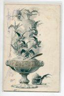 ILLUSTRATEUR ART NOUVEAU  Fontaine De Petits Diables Diablotins Ailés Coupe 1900  Dos Non Divisé  D03 2020 - Illustratori & Fotografie
