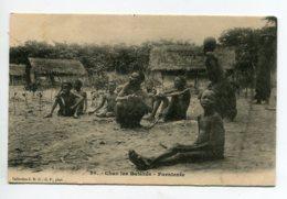CONGO Chez Les Indigènes BATEKES Farniente Assis Place Du Village Coll SHO G.P  Photo D03 2020 - Congo - Brazzaville