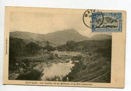 CONGO Belge MATADI Pont De Fer Voies Chemin De Fer Vallée De La M'POSO  1928 Timb  D03 2020 - Congo Belga - Altri