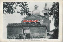 Souvenir De St-Marcel (Sanctuaire De Plout) - 1929 - Autres Villes