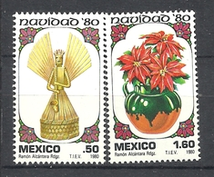 MEXICO 1980  CHRISTMAS   MNH - Mexique