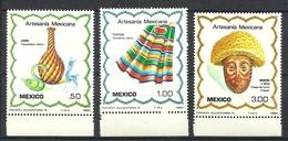 MEXICO 1980  CRAFTS SET  MNH - Mexique