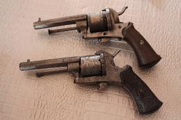 Deux Pistolets à Broche - Armas De Colección