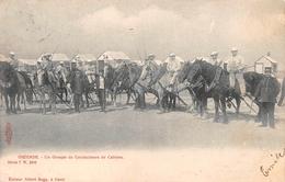 Ostende - Un Groupe De Conducteurs De Cabines, 1907 - Heist