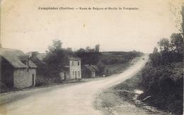 56 - Campénéac (Morbihan) - Route De Beignon Et Moulin De Pontgasnier - Otros Municipios