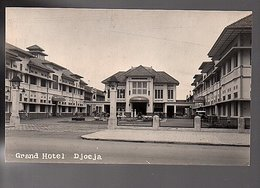 ± 1920 PRIVATE Sharp PHOTO  Netherlands Indies Grand Hotel Djocja(karta) (NI24-25) - Indonesia
