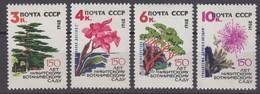 Russia, USSR 27.09.1962 Mi # 2650-53, 150th Anniversary Of Nikitsky Botanical Garden In Crimea, MNH OG - Nuevos