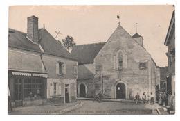 37.575/ LUZILLE - Eglise, Place De L'église (ouest) - France