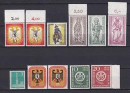 Berlin - 1955/56 - Michel Nr. 129/134+135/139 - Postfrisch - 56 Euro - Neufs