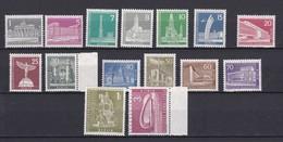 Berlin - 1956/62 - Michel Nr. 140/154 - Postfrisch - 54 Euro - Neufs